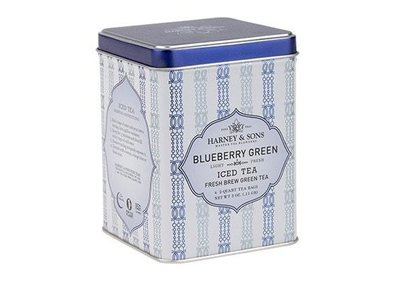 Harney & Son Harney & Sons Blueberry Green ICED Tea 6-2 qt