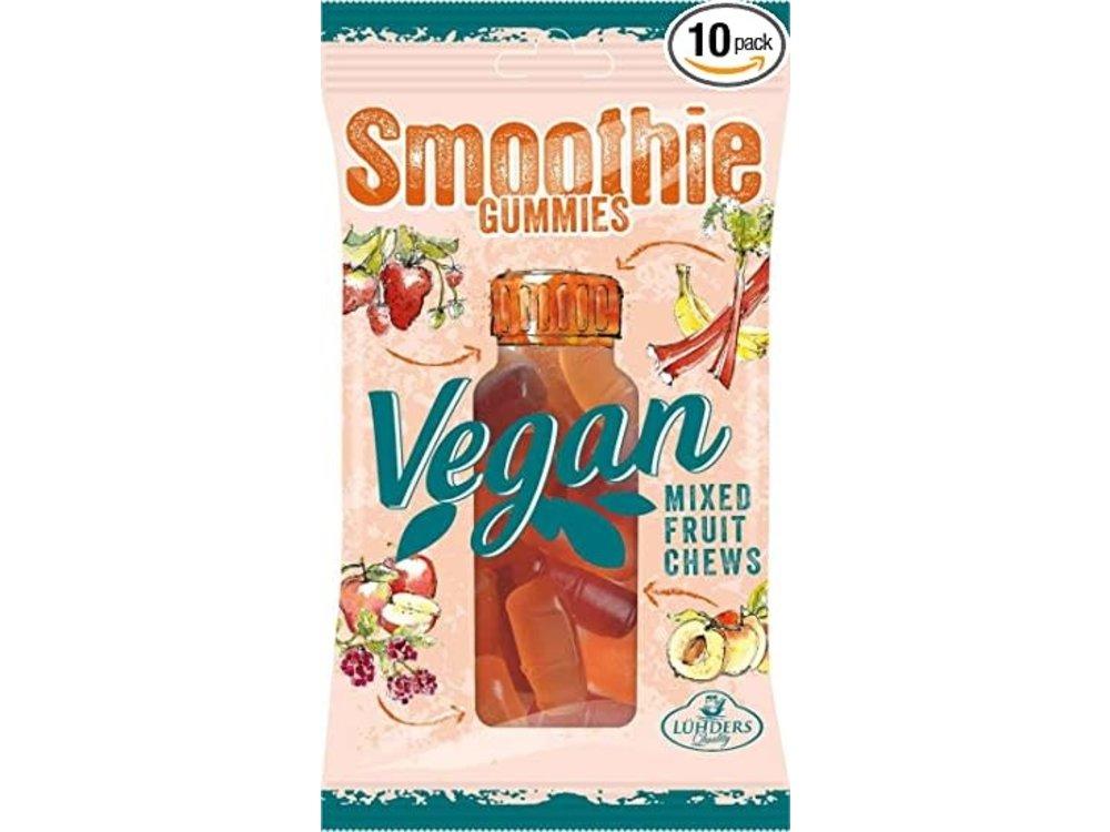 J Luehders Luehders Vegan Exotic Smoothie Gummies 2.8 oz 10/cs