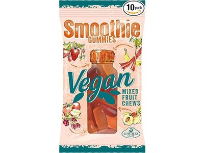 J Luehders Luehders Vegan Exotic Smoothie Gummies 2.8 oz 10/cs