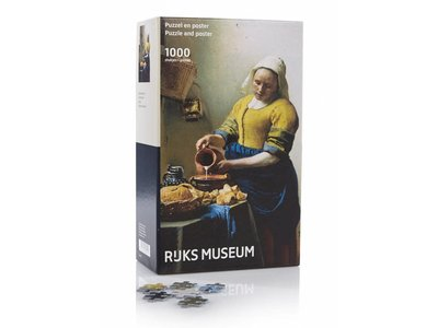 Games Puzzle Kitchen Milk Maid by Vermeer 1000 pc