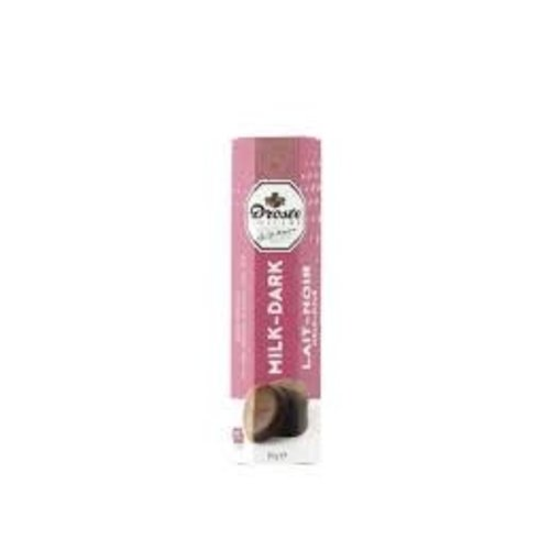Droste Droste Doublet Milk & Dark Chocolate Pastille 2.99 Oz