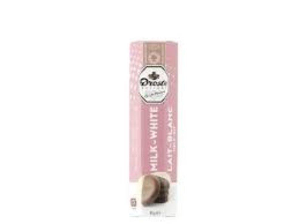Droste Droste Milk & White Chocolate Pastille 2.99 Oz