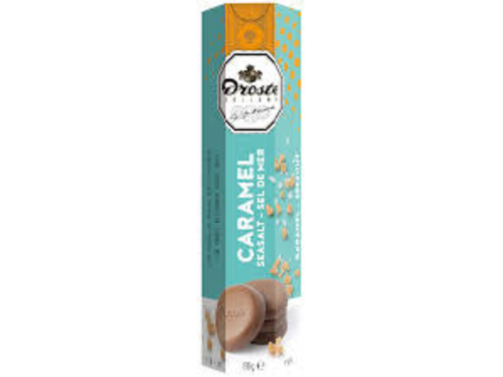 Droste Droste Milk Caramel Seasalt Chocolate Pastille 2.8 Oz
