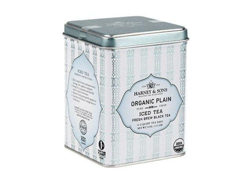 Harney & Son Harney & Sons Organic Plain Black ICED Tea 6-2 qt