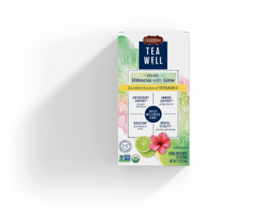 Teawell Teawell Hibiscus with Lime Tea 16 ct