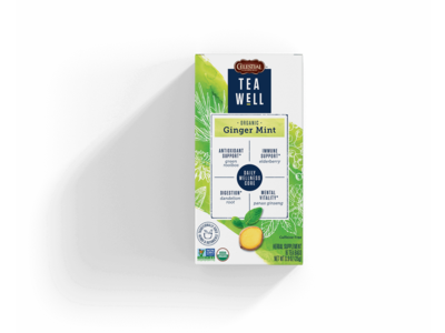 Teawell Teawell Organic Ginger Mint Tea 16 ct