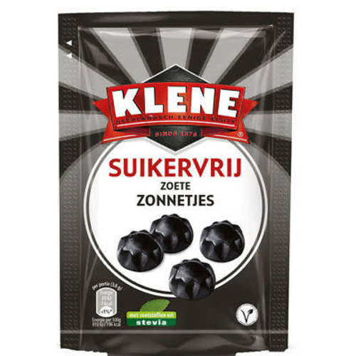 Klene Klene Sugar Free Sweet Suns Licorice 3.5 Oz