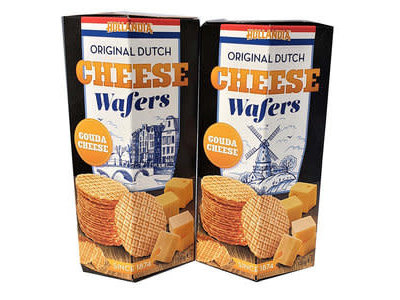 Vegter Vegter Dutch Cheese Waffers 3.5 oz