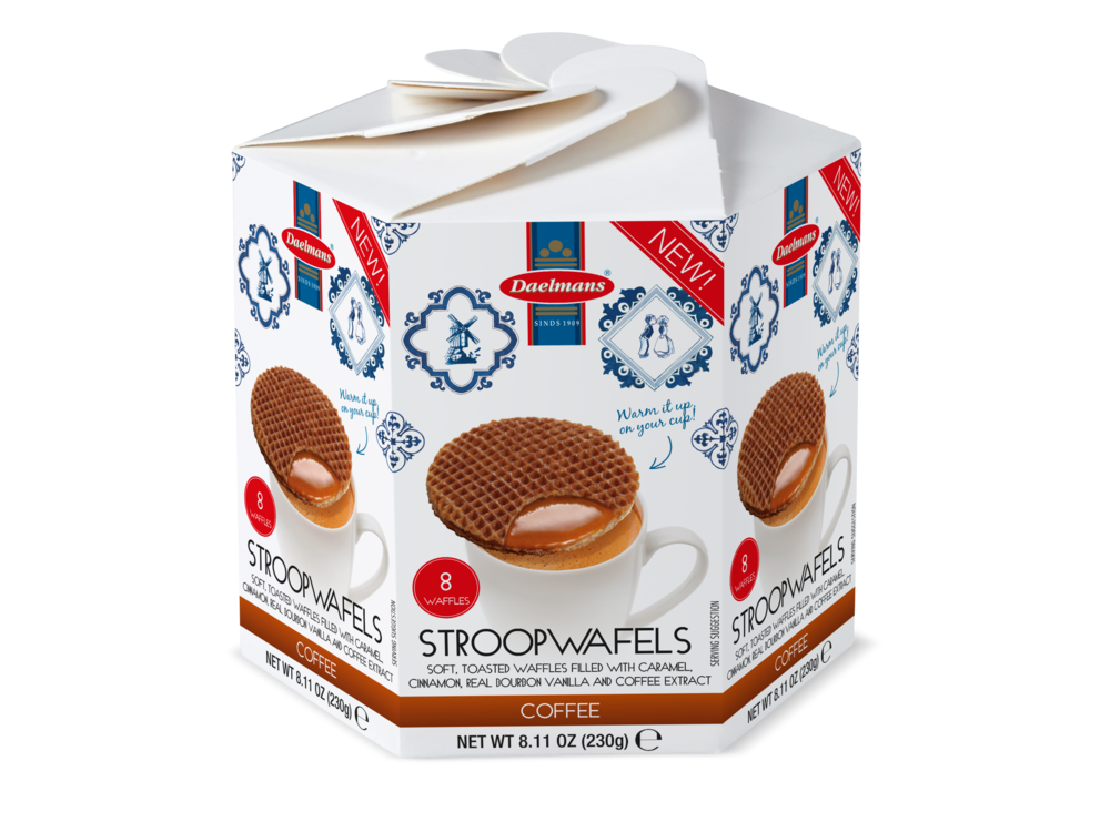 Daelmans Daelmans Coffee Syrupwafer Hex 8.11 Oz Box
