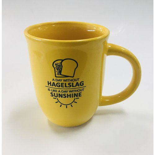 Hagelslag & Sunshine Mug 14 oz Yellow