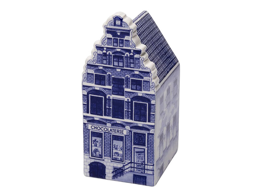"Delft Canal Large Chocolatier Shop  5.5"" Tall"