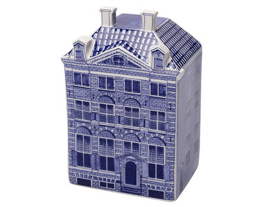 "Delft Canal Large Rembrandt House  5.5"" Tall"