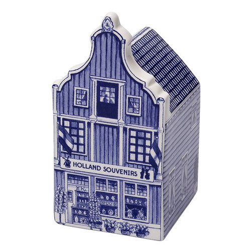 "Delft Canal Large Souvenir Shop  5.5"" Tall"