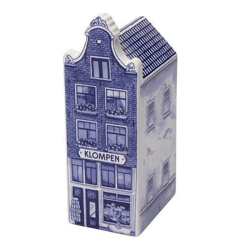 "Delft Canal Large Klompen Shop  5.5"" Tall"