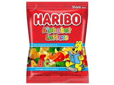 Haribo Haribo Alphabets Letters 5oz Bag 12/cs