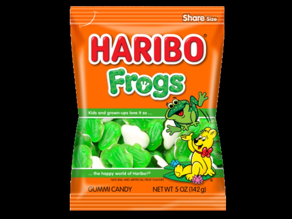 Haribo Haribo Frogs 5oz Bags 12/cs