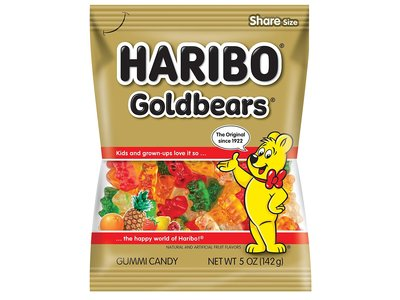 Haribo Haribo Gold Bears 5oz Bags 12/cs