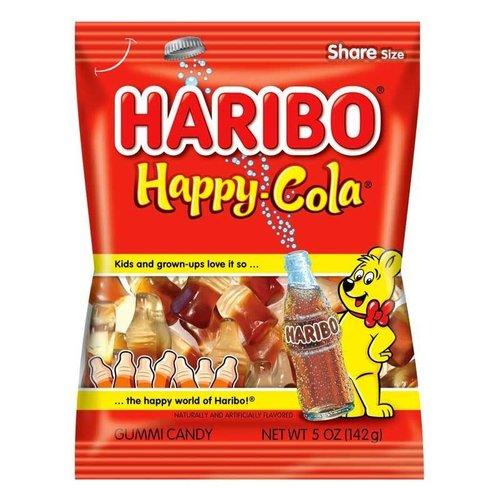 Haribo Haribo Happy Cola Bottles 5oz Bag 12/cs