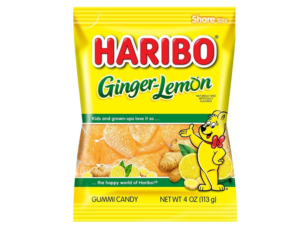 Haribo Haribo Lemon Ginger 4 oz Bag 12/cs