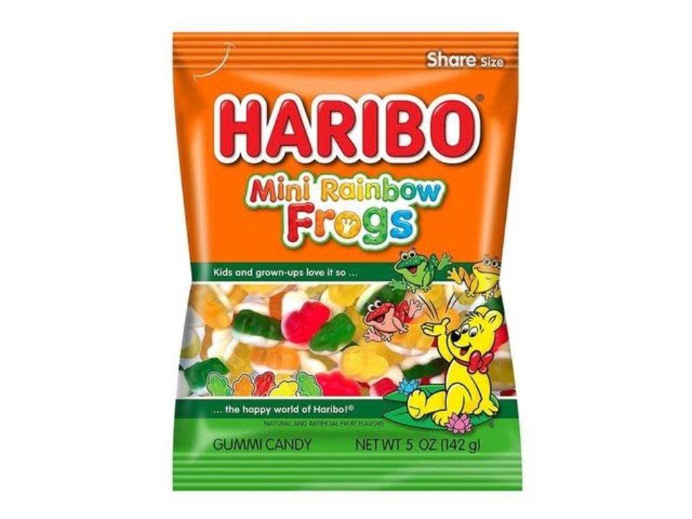 Haribo Haribo Mini Rainbow Frogs 5oz Bags 12/cs