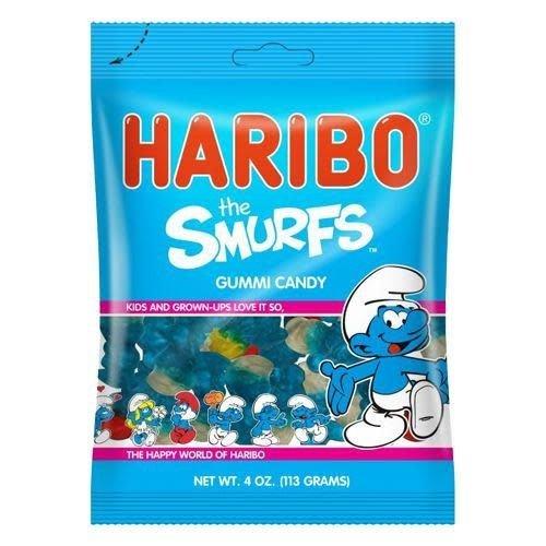 Haribo Haribo Smurf Gummi Candy 5oz Bag 12/cs