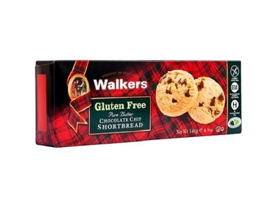 Walkers Walkers Gulten Free Chocolate Chip Rounds 4.9 oz box
