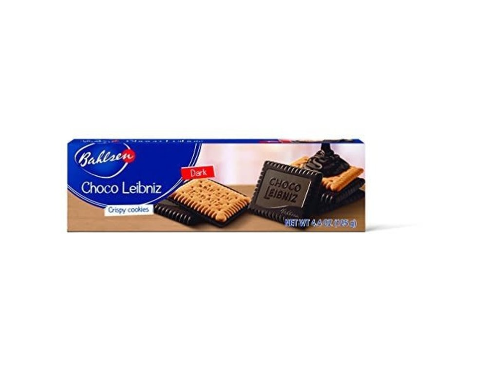 Bahlsen Bahlsen Dark Chocolate Leibniz 4.4oz Box 12/cs