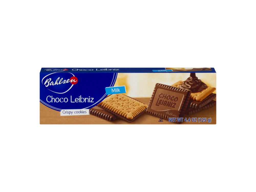 Bahlsen Bahlsen Milk Chocolate Leibniz 4.4oz Box 12/cs