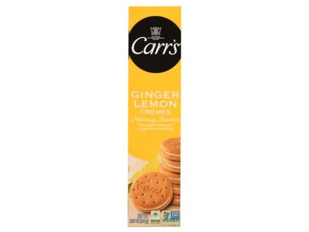 Carrs Carrs Ginger Lemon Cremes