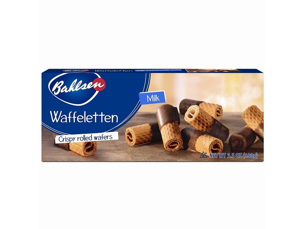 Bahlsen Bahlsen Milk Wafer Rolls 3.5oz Box 12/cs