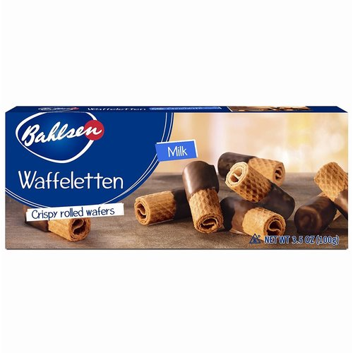 Bahlsen Bahlsen Milk Wafer Rolls 3.5oz Box 12/cs