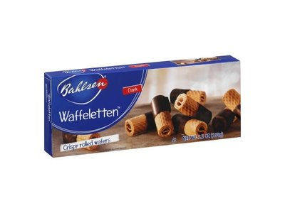 Bahlsen Bahlsen Dark Wafer Rolls 3.5oz Box 12/cs