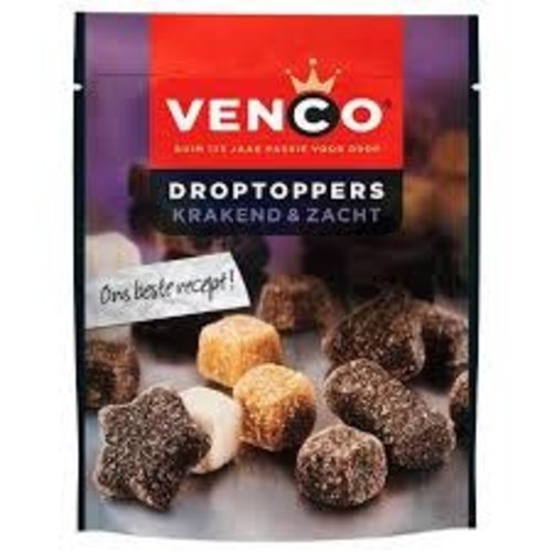 Venco Venco Droptopper Krakend & Zacht Mix 6.7 oz Bag - 232g