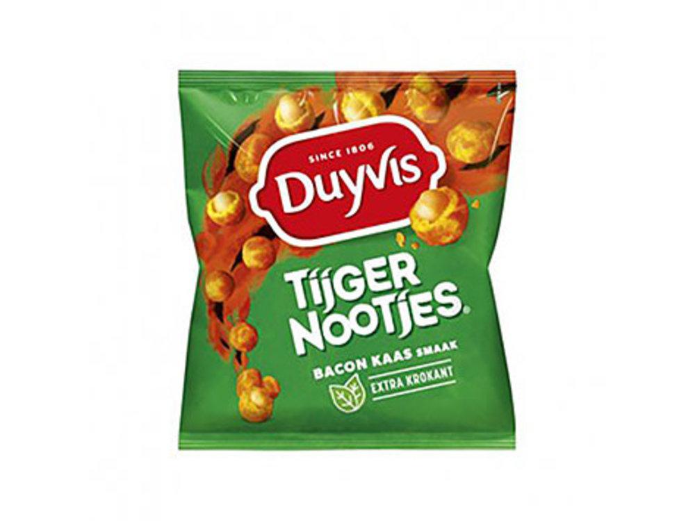 Duyvis Duyvis Tijger Borrelnootjes Bacon Cheese Flavor 9 oz