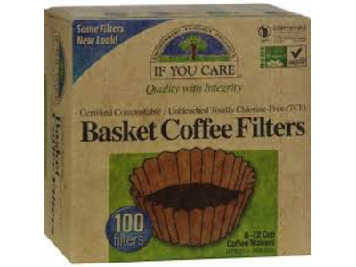If You Care Basket Coffee Filter 8 -12 cup