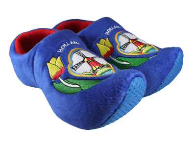 Nelis Imports Blue Slipper Shoe Adult 10-11 (27 cm)