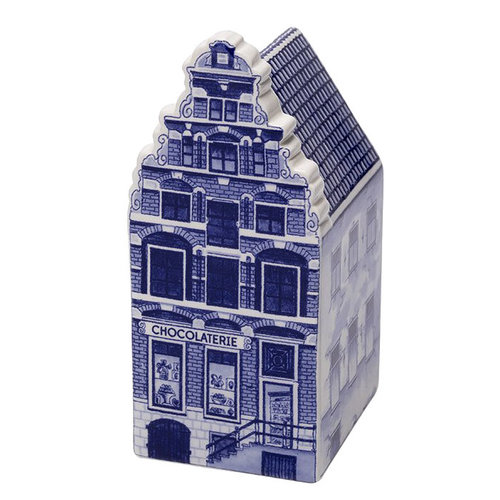 "Delft Canal Small Chocolatier House 3"" Tall"