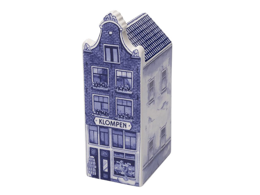 "Delft Canal Small Klompen Shop 3"" Tall"