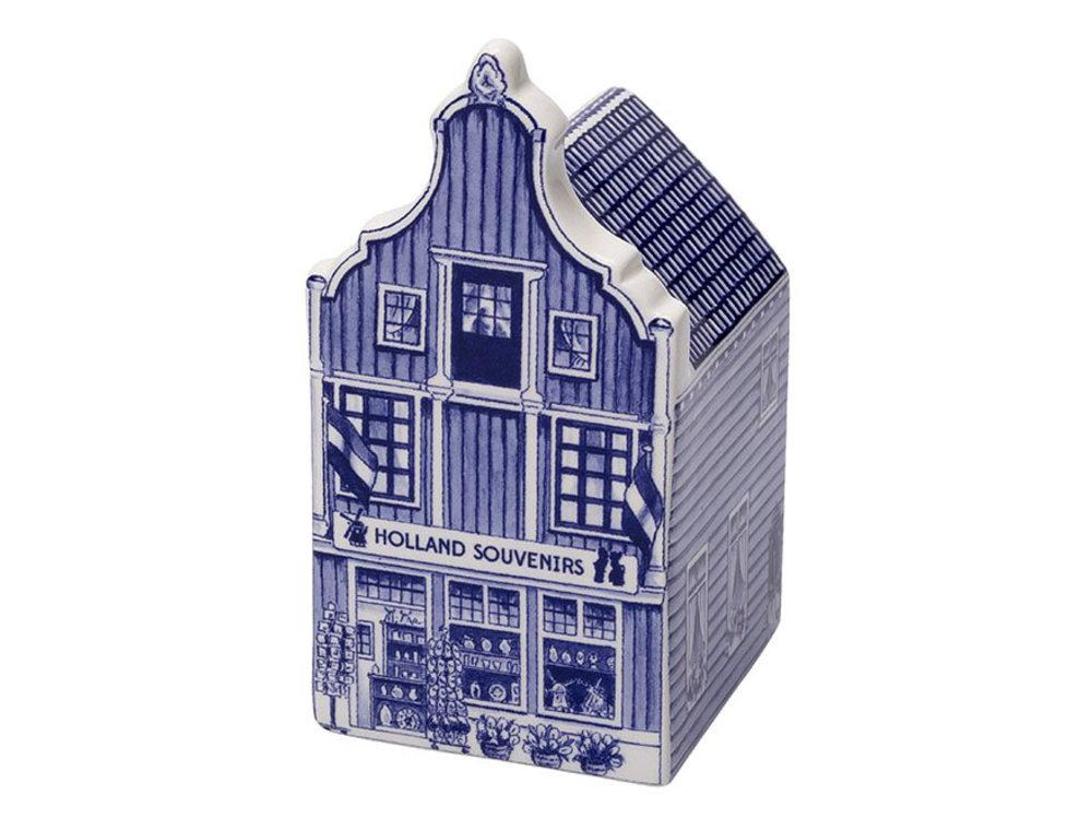 "Delft Canal Small Souvenir Shop 3"" Tall"