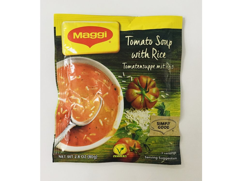 Maggi Maggi Tomato w/Rice Soup Mix