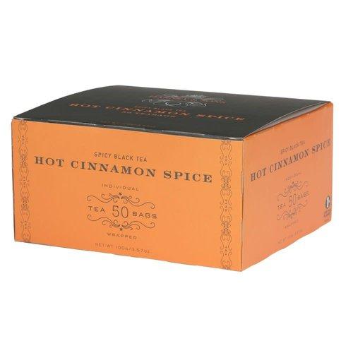 Harney & Son Harney & Son Hot Cinnamon Spice TeaBags 50 ct Box
