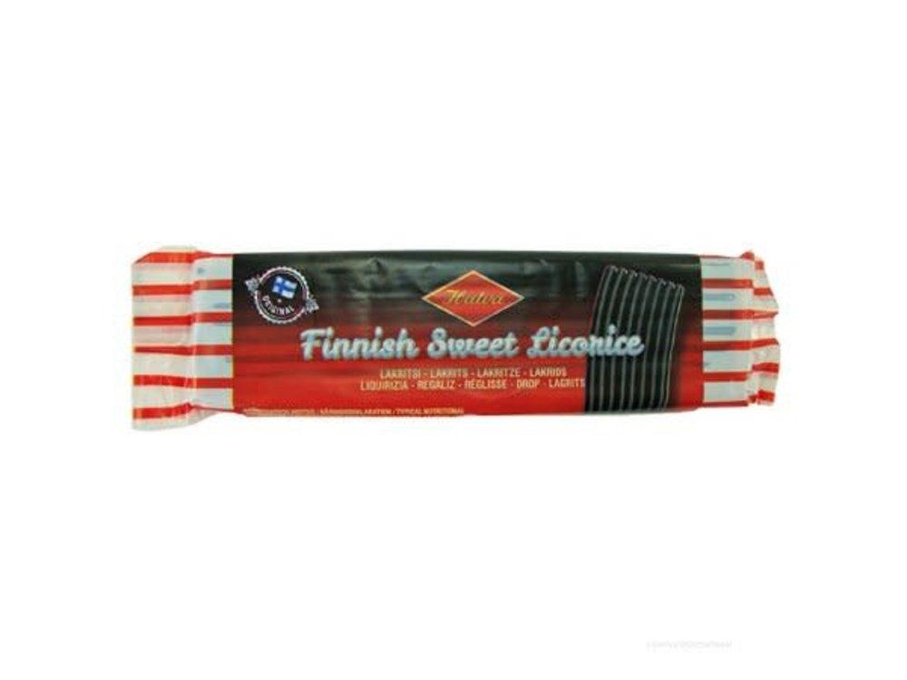 Halva Halva Finnish Sweet Licorice Bar 2.1 Oz