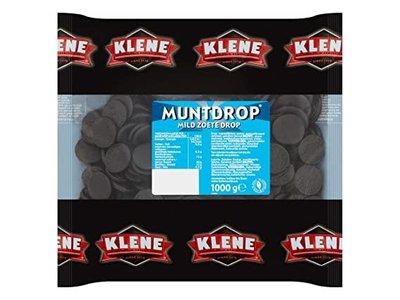 Klene Klene Licorice Coins Mild Sweet  2.2 lb bag DATED APRIL 2021