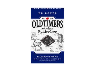 Old Timers Old Timers Hindelooper Mild Salt Diamond 7 oz Licorice Blue Box