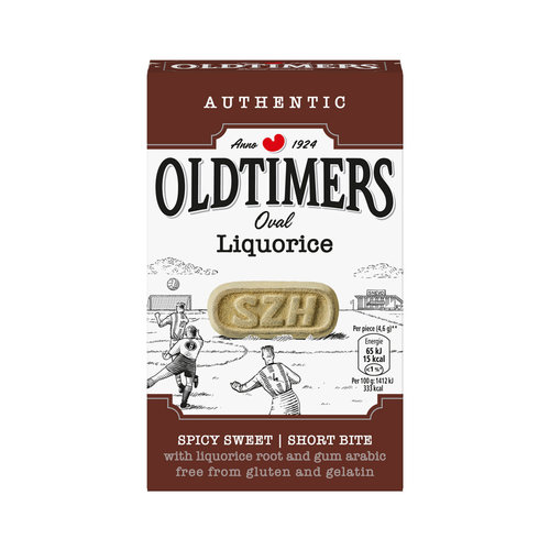 Old Timers Old Timers Sweet Dusted Zoethout 7.5 oz Red Box