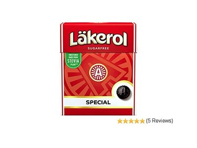 Lakerol Lakerol Sugar Free Menthol Licorice Special .88 oz