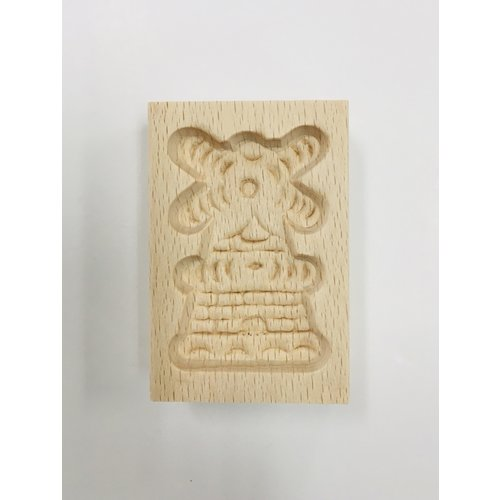 Nelis Imports Wood Mill Cookie Mold 2.5 x 1.5 inches