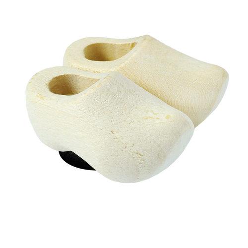 Nelis Imports Magnet Wooden Shoe Plain Sanded 1.75 inch
