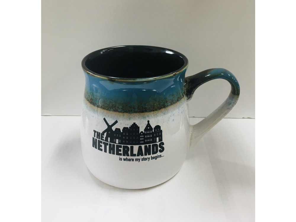 The Netherlands New Canal House Story 16 oz Tavern Mug