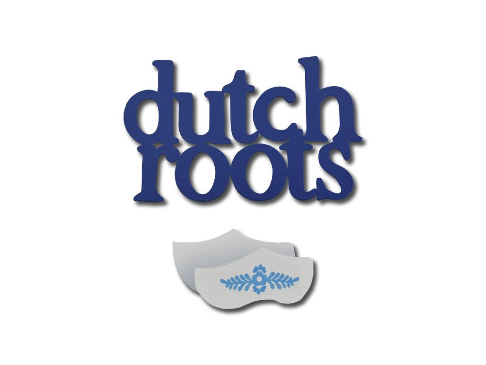 Roeda Studio Dutch Roots Magnet Blue